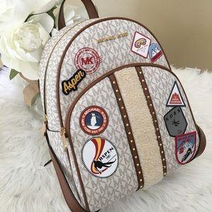 Michael Kors medium abbey aspen backpack